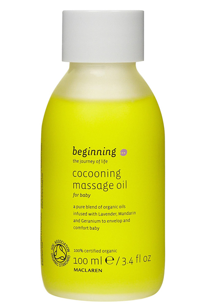 Maclaren Cocooning Massage Oil, 100ml / 3.4 fl oz