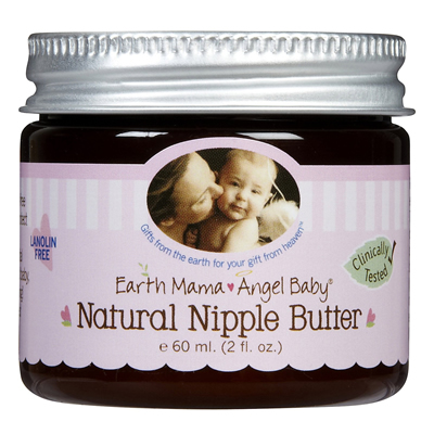 Earth Mama Angel Baby Natural Nipple Butter 60 ml. (2 oz.)