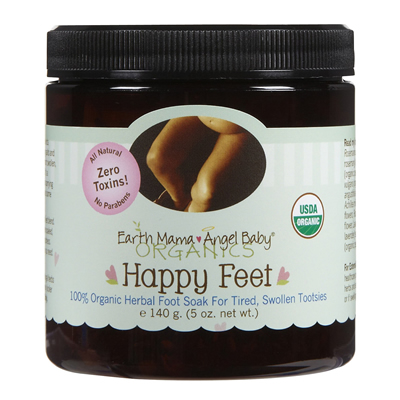 Earth Mama Angel Baby Organic Happy Feet 140 g. (5 oz.)