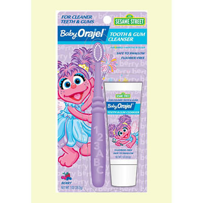 harga Baby Orajel Tooth & Gum Cleanser - Abby Cadabby Babymothercare.com
