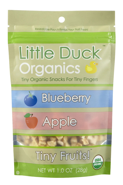 Little Duck Organics Organic Blueberry & Apple Tiny Fruits