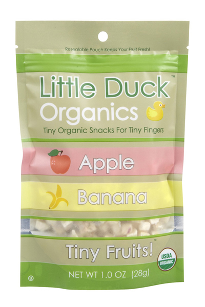 Little Duck Organics Organic Apple & Banana Tiny Fruits