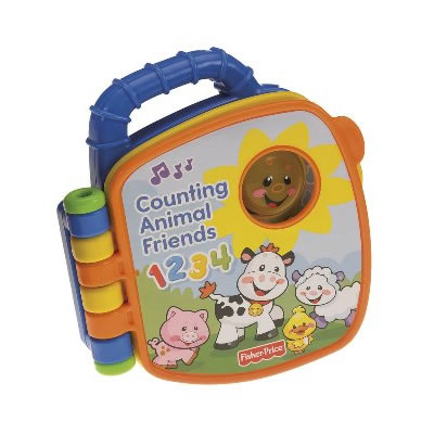 Fisher-Price Laugh & Learn Counting Animal Friends Book