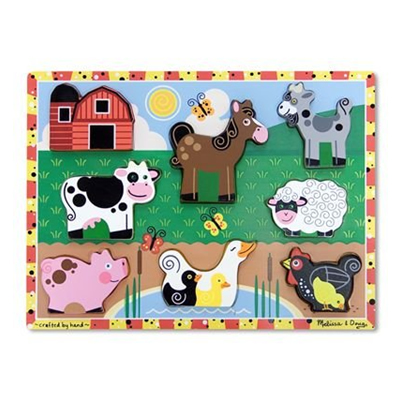 Farm Wooden Chunky Puzzle