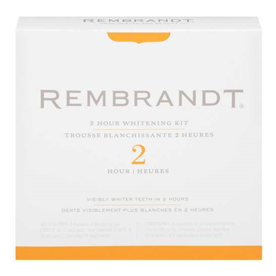 Rembrandt 2-Hour Whitening Kit, 1 ct