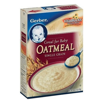 Gerber Oatmeal Cereal