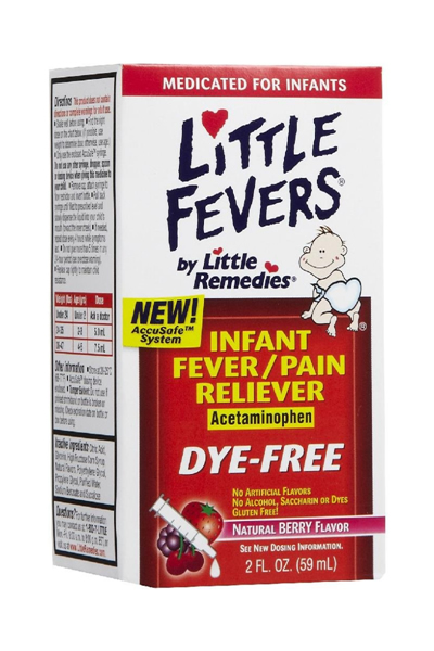 Little Remedies Little Fevers Fever/Pain Reliever Infant Drops - Mixed Berry 2 oz
