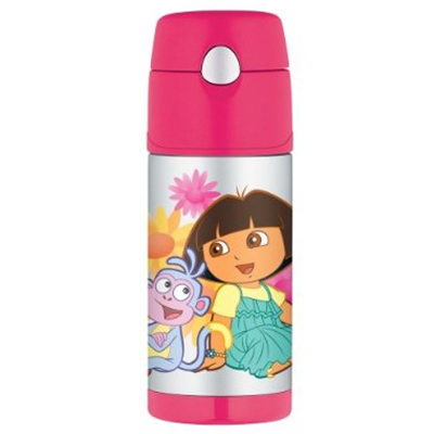 harga Thermos Dora Funtainer Straw Bottle - 12 Oz. (Original Licensed) Babymothercare.com
