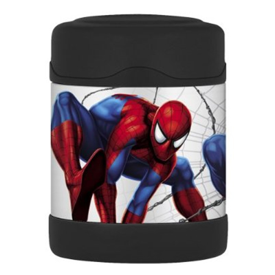 harga Thermos Spiderman Funtainer Food Jar (Original Licensed) Babymothercare.com
