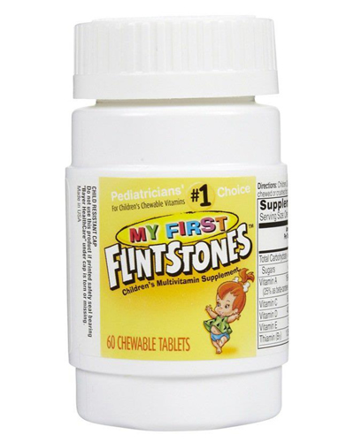 Flintstones My First Multivitamin Chewables