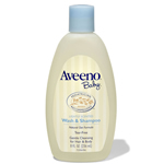 Aveeno Baby Wash & Shampoo - 8 fl oz. Bottle