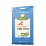 Babyganics Thick & Kleen Cream Infused Baby Wipes Travel Pack 40ct.