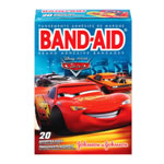 Johnson & Johnson Band Aids 20-Count - Cars
