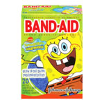 Johnson & Johnson Band Aids 20-Count - Sponge Bob