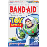 Johnson & Johnson Band Aids 20-Count - Toy Story
