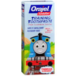 Orajel Toddler Training Toothpaste, Tutti Fruity Flavor
