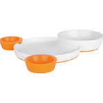 Boon Groovy Interlocking Plate and Bowl Set