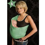 Seven Slings Baby Slings (Light Green)