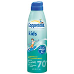 Coppertone Kids Clear Continuous Sunscreen Spray - SPF 70+ - 6 oz