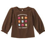 Gymboree Whooo's The Cutest Owl Tee