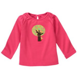 Gymboree Peeking Owl Tee