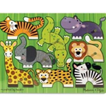 Zoo Mix 'N Match Peg Puzzle