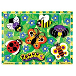 Insects Wooden Chunky Puzzle
