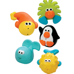 Sassy Bathtime Pals Squirt and Float Toys