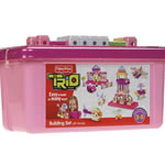 Fisher Price Trio Basic Girls Tub (94 pcs)