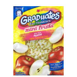 Gerber Graduates Fruit & Veggie Minis Mini Fruits Bite - Size Apple