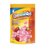 Graduated Yogurt Melts Snacks ? Strawberry