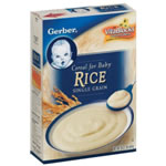 Gerber Rice Cereal (Single Grain)