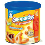 Graduates Lil' Crunchies Snacks ?  Cinnamon Maple