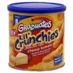 Graduates Lil' Crunchies Snacks ? Cheesy Tomato