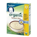 Gerber Organic Brown Rice Cereal