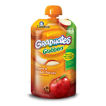 Gerber Graduates Grabbers, Apple, Sweet Potato, 4.23-Ounce