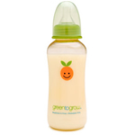 Green to Grow bpa-free baby bottle with Mellow™ colic-relief10 oz regular neck