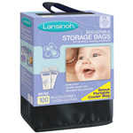 Lansinoh Breastmilk Storage Bags w/ Cooler - 100 ct