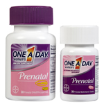 One A Day Women's Prenatal Complete Multivitamin + DHA, 30 Tabs + 30 Softgels