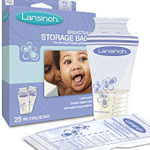 Lansinoh Breast Milk Storage Bags - 25 Count