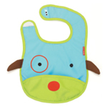 Skip Hop Zoo Bibs tuck-away bibs (DOG)