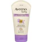 Aveeno Baby Continuous Protection Sunscreen - SPF 55
