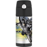 Thermos Batman Funtainer Straw Bottle - 12 Oz. (Original Licensed)