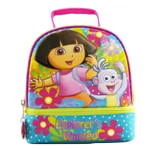 Dora the Explorer and Boots Girls Purple Dome School Lunchbox