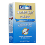 Enfamil Tri Vi Sol Vitamin with Iron with Dropper (1.66 fl oz)