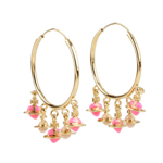 VIVIENNE WESTWOOD MINIATURES LARGE HOOP EARRINGS